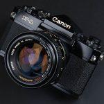 CANONのフィルムカメラ、F-1前期、F-1後期、NEW F-1の違いと見分け方