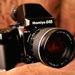 MAMIYA 645 PRO TL ボディのシャッター確認方法